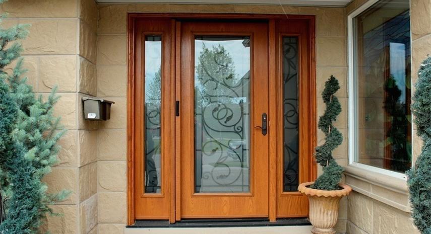 Fiberglass Entry Doors Calgary & Fiberglass Entry Doors Calgary - Vinyl Window Pro
