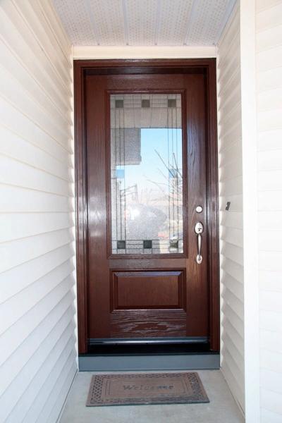 Fiberglass entry doors calgary vinyl window pro Exterior doors installation calgary