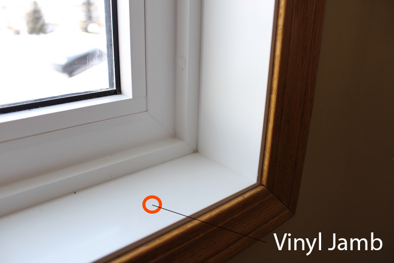 Windows Interior Finishes Vinyl Window Pro