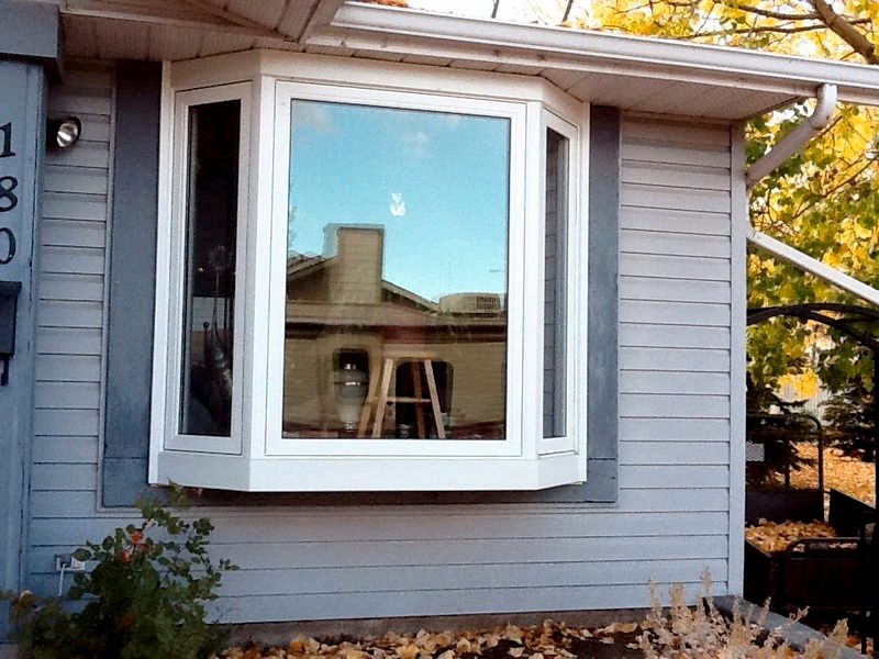 bay and bow windows installation and replacement vinyl bay and bow windows recent projects in calgary alberta