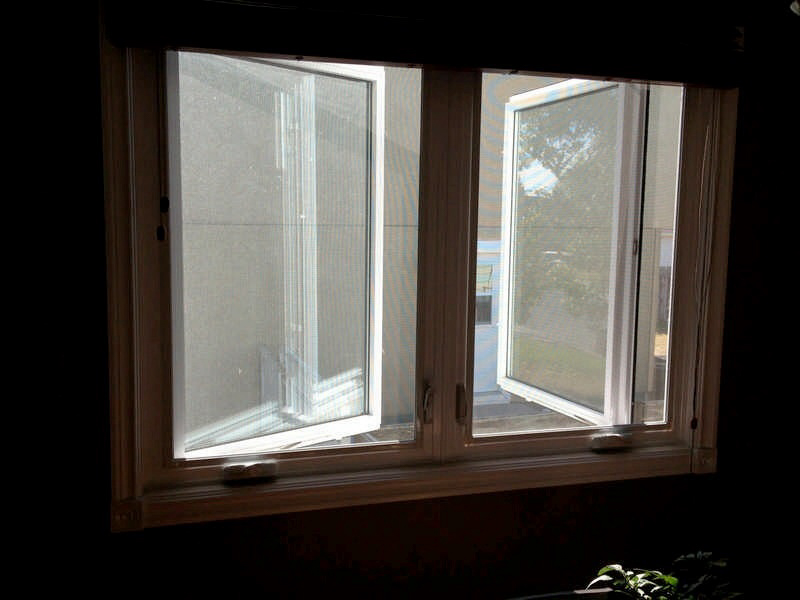 Casement windows installation and replacement vinyl for Replacement casement windows
