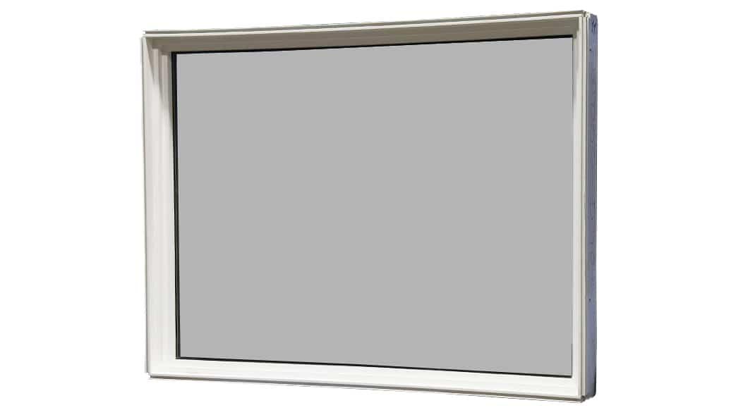 49 1 4 x 37 5 8 picture window 100 vinyl window pro for Best vinyl windows reviews