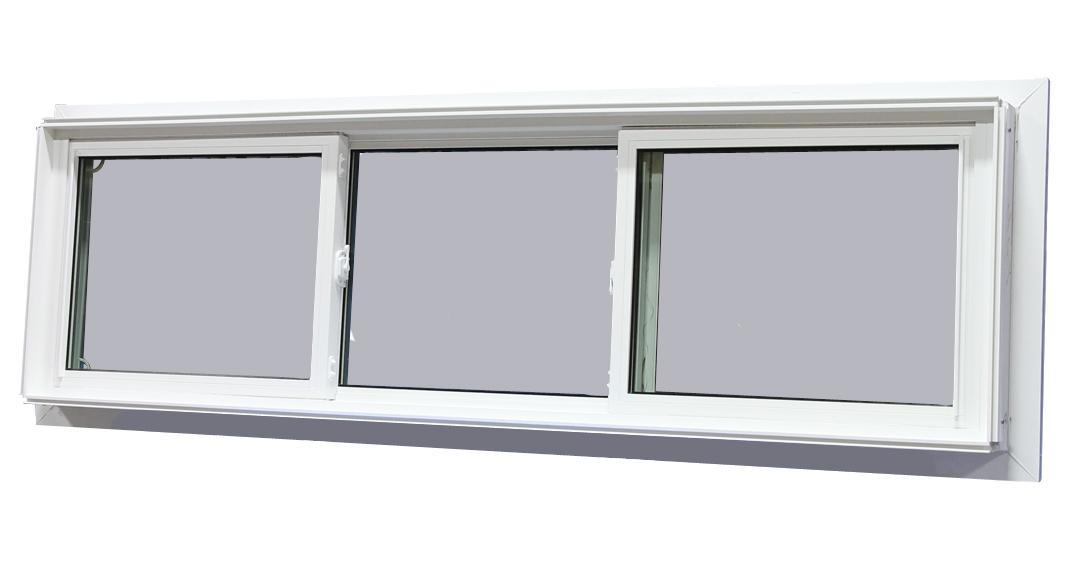 78 1 4 x 23 1 4 end vent sliding window 195 vinyl for Best vinyl windows reviews
