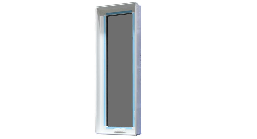 19 3 4 x 59 casement window right hand 70 vinyl for Best vinyl windows reviews